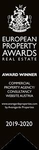 Commercial Property Agency/Consultancy Website Austria - Award Winner 2019-2020